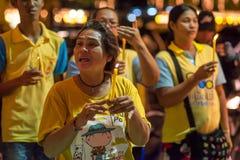El día de padre Bangkok 2015 Imagen de archivo