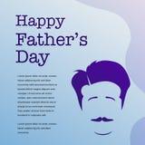 El día de padre feliz con el fondo del ejemplo del padre