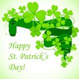 El día de St Patrick stock de ilustración