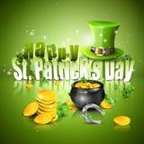 El día de St Patrick Fotos de archivo