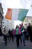 El día de San Patricio en Bucarest 9 Imagen de archivo