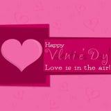 ¡El día de tarjeta del día de San Valentín! Fotografía de archivo libre de regalías