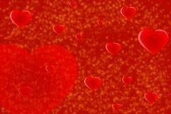 El día de tarjeta del día de San Valentín background-01 rojo Imágenes de archivo libres de regalías