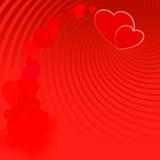 El día de tarjeta del día de San Valentín background-08 rojo Fotos de archivo