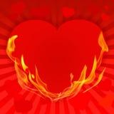 El día de tarjeta del día de San Valentín background-10 rojo Fotos de archivo libres de regalías