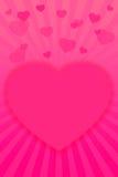 El día de tarjeta del día de San Valentín background-12 rojo Imagen de archivo