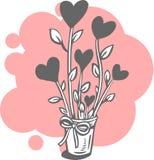 El día de tarjeta del día de San Valentín - conjunto del vector. Imagen de archivo libre de regalías