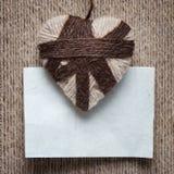 El día de tarjeta del día de San Valentín del fondo imagen de archivo libre de regalías