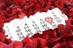 El día de tarjeta del día de San Valentín del St Foto de archivo libre de regalías