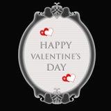 El día de tarjeta del día de San Valentín feliz Fotos de archivo libres de regalías