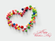 El día de tarjeta del día de San Valentín feliz #02 Imagenes de archivo