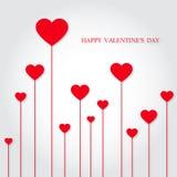 El día de tarjeta del día de San Valentín feliz Imagen de archivo
