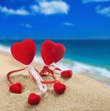 El día de tarjeta del día de San Valentín feliz del día de fiesta Fotos de archivo libres de regalías