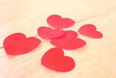El día de tarjeta del día de San Valentín. fondo. Fotografía de archivo