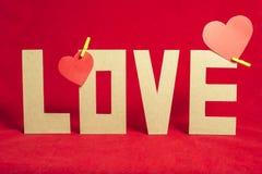 El día de tarjeta del día de San Valentín hermoso de la composición Imagen de archivo libre de regalías