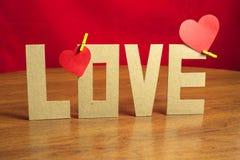 El día de tarjeta del día de San Valentín hermoso de la composición Imágenes de archivo libres de regalías