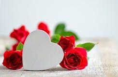 El día de tarjeta del día de San Valentín o concepto del día de madre Imagen de archivo
