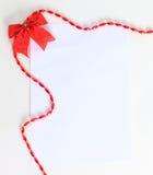 El día de tarjeta del día de San Valentín para su texto. Imagen de archivo libre de regalías