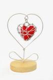 el día de tarjeta del día de San Valentín precioso fotografía de archivo libre de regalías