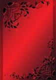 El día de tarjeta del día de San Valentín. vector Imagen de archivo