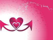 El día de Valentineâs. Fotografía de archivo libre de regalías