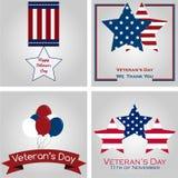 El día de veterano ilustración del vector