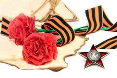 El día de victoria 9 de mayo Imagen de archivo libre de regalías