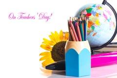 ¡El día del profesor! Fotos de archivo libres de regalías