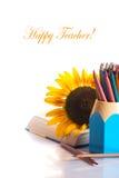 ¡El día del profesor! Fotografía de archivo
