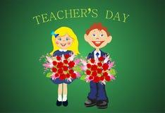 El día del profesor, libre illustration