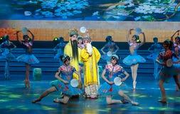 El Día del Trabajo Ópera-general del ` s de Tang Minghuang y del sindicato de Yang Guifei- Pekín muestra Fotos de archivo