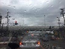 El día lluvioso Fotos de archivo