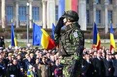 El día nacional 2015 de Rumania imagenes de archivo