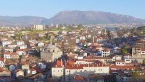 El día Timelapse, pueblo de Anatolia del otomano tradicional, Safranbolu, Turquía, enfoca adentro metrajes
