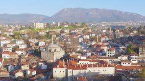 El día Timelapse, pueblo de Anatolia del otomano tradicional, Safranbolu, Turquía, enfoca adentro almacen de video