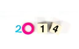 Año 2014 Imagen de archivo libre de regalías
