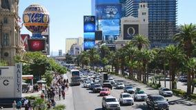 El d3ia de la tira de Las Vegas almacen de video