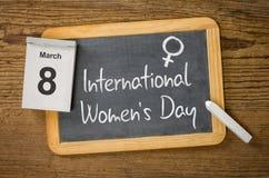 El día de las mujeres internacionales Fotos de archivo libres de regalías