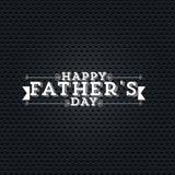 El día de padre Foto de archivo libre de regalías
