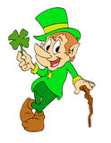 El día de St Patrick del Leprechaun Foto de archivo libre de regalías