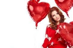 El día de tarjeta del día de San Valentín Imagen de archivo