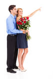 El día de tarjeta del día de San Valentín Fotos de archivo libres de regalías