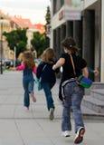 El día pasado de escuela Imagen de archivo libre de regalías