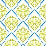 ¡El damasco Wallpaper Foto de archivo