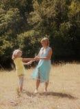 El dar un paseo Imagen de archivo libre de regalías