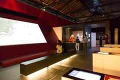 EL de Barcelona da inauguração carregado centímetro cúbico Imagem de Stock Royalty Free