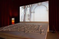 EL de Barcelona da inauguração carregado centímetro cúbico Foto de Stock Royalty Free