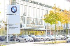 El ¼ de BMW Niederlassung MÃ nchen Imagen de archivo libre de regalías