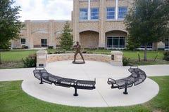El ` de Davey O brien memoria en Texas Christian University Fotos de archivo libres de regalías