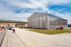 El ` de Documenta del ` en Kassel ocurre cada cinco años y dura tres meses Imagenes de archivo